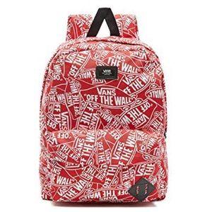Vans Off The Wall Old Skool II Backpack Red NWT